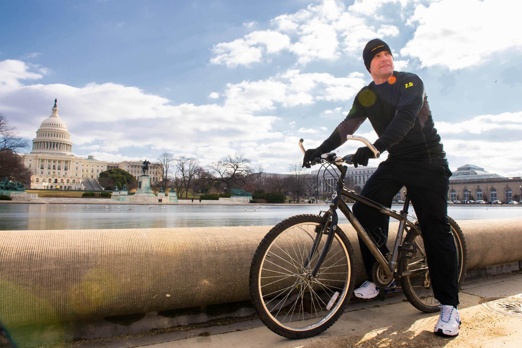 Capitol biking